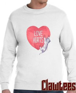 Love hurts posh sweatshirt