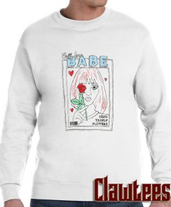Magazine Girl posh sweatshirt