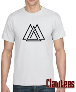 Triangle Maze Shapes posh T Shirt