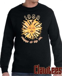 1969 Summer Of The Sun Posh Sweatshirt