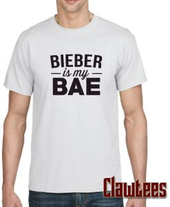 """Bieber is my Bae"" Posh T Shirt"