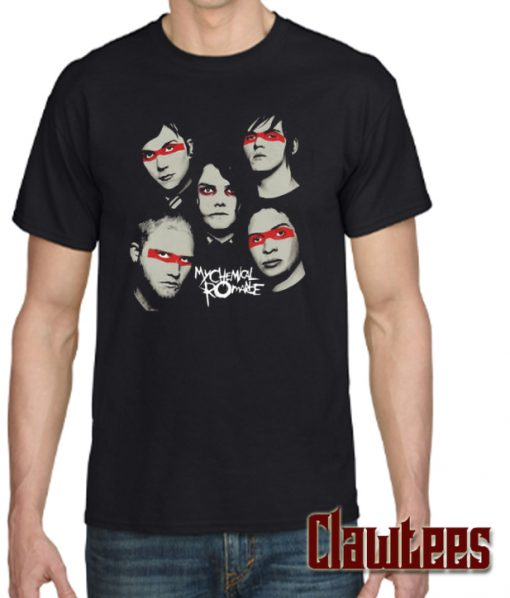 MCR Gerard Way Ray Toro Frank Iero Dark Posh T SHIRT