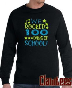 100th Day of School Posh Sweatshirt