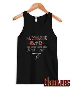 Cleveland Browns Cavaliers Indians Baker Mayfield Kevin Love Francisco Lindor Posh Tank Top