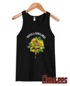 You're A Sunflower Post Malone Posh Tank Top