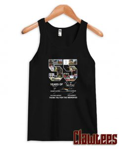 55 Years Of Pink Floyd Thank You For The Memories Tank Top