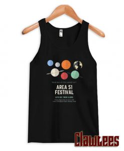Want Out-Of-This-World Fun Area 51 Festival Lets See Them Aliens Tank Top