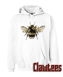 Sunflower Honeybee Animals Boho Bohemian Posh Hoodie