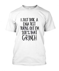 100% That Grinch Cut Files for Christmas Posh T Shirt