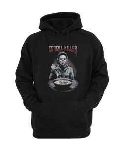Michael Myers Halloween Cereal Killer Posh Graphic Hoodie