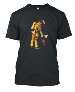 I love this Firefighter Fireman and Mickey Mouse Posh T Shirt